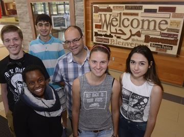 Oakville's Garth Webb S.S. welcomes students, visitors in 30 languages