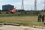 Ornge lands at soccer field