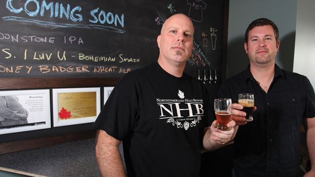 Craft beer brewing in Cobourg