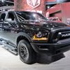 Ram Rebel Black bows in Detroit