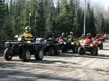 ATVS ON ROADS