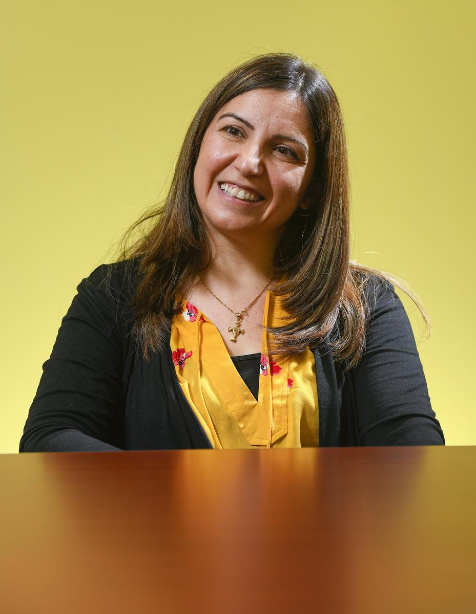 Portrait of Syrian born Architect Wadiaa Stanom.Photo Taken at the Immigrants Working Centre Good Shepherd says the future of Syrian refugees in Hamilton looks bleak without proper supports in place for them now that government funding for their initial 12 months in Canada has expired.