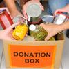 FOOD DONATIONS APPRECIATED