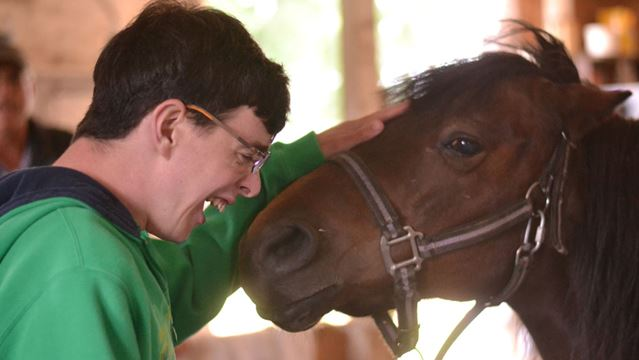 Horses change lives of special needs clients