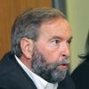 NDP Leader Thomas Mulcair visits Oshawa