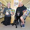 Paws up for literacy
