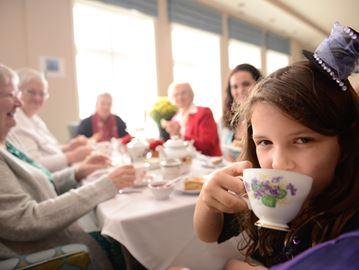 Seasons Milton high tea benefits Townsend Smith Foundation