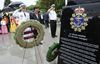 RCN ships in Korea Memorial monument unveiled in Spencer Smith Park