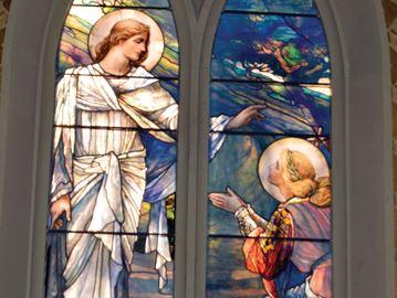 St. George's  window restoration