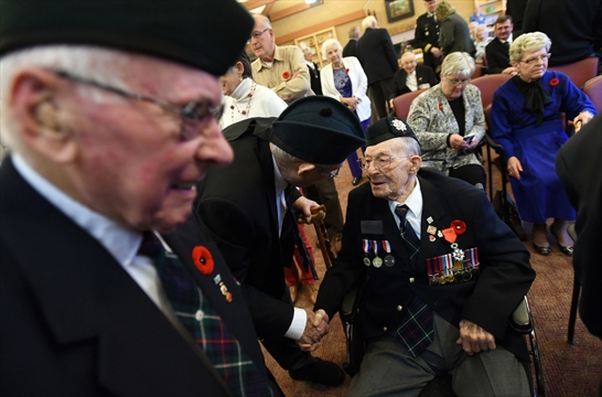 Kitchener War Hero 'Augie' Honoured For Helping To