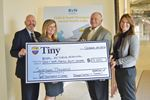 Tiny makes sizable contribution to mental-health services in Barrie