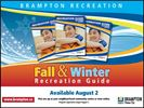 City of Brampton's Fall & Winter Recreation Guide