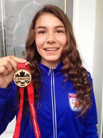 Rhiannon Kissel medal
