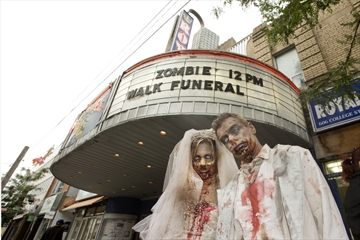 ZOMBIE FUNERAL