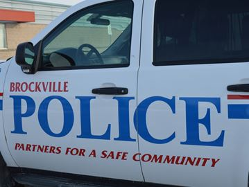 Brockville police vehicle