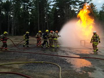 Local firefighters participate in Hydrocarbon training