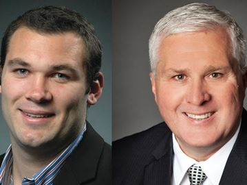 Federal Conservative candidates Alex Nuttall and John Brassard