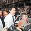 Justin Trudeau in Port Hope