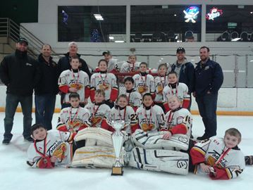 New Tecumseth hockey team wins Rochester tournament