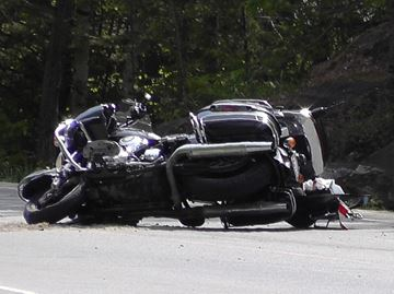 Motorcycle crash - May 24, 2015
