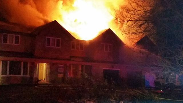 Holt Road fire