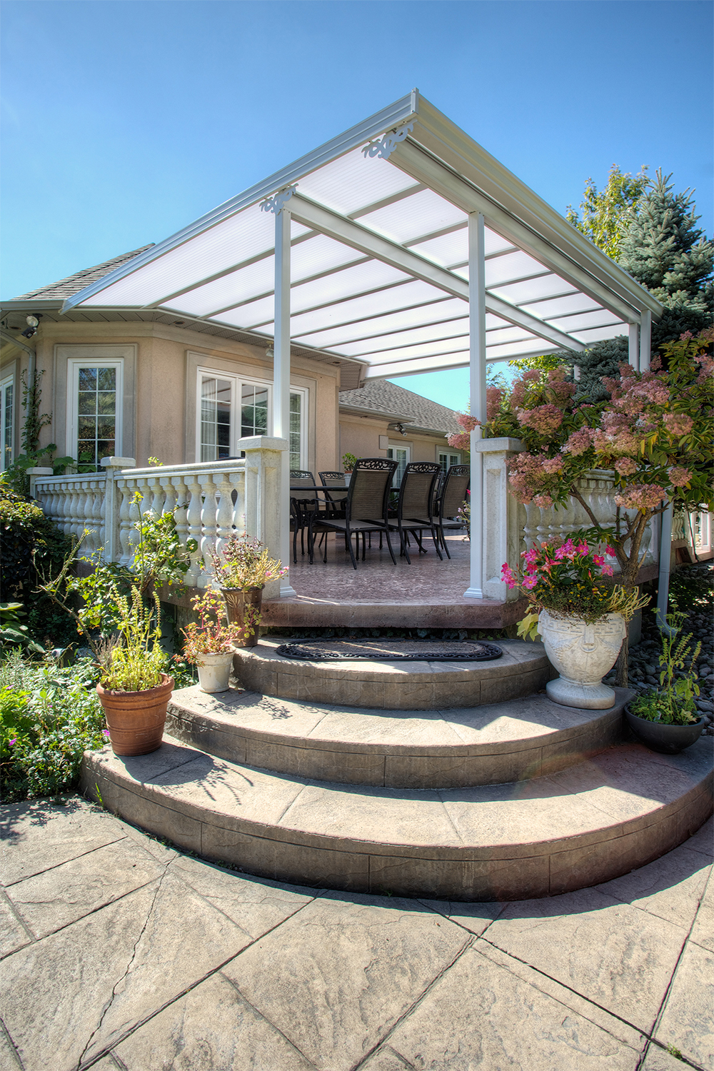 Transforming Backyards Natural Light Patio Covers From