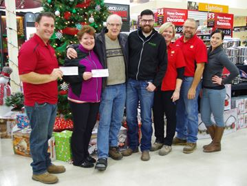 Alliston event raises $2,400 for food bank