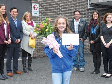 Cystic Fibrosis Canada names Beeton girl advocacy champion