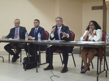 Etobicoke Centre all-candidates debate