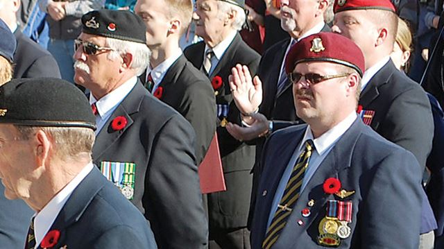 Remembrance Day charges