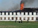 Battling blaze