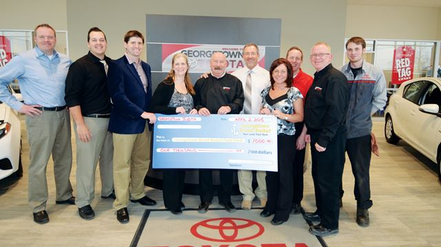 Georgetown Toyota Employees Drop Weight For A Cause
