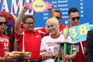 Hot dog champ