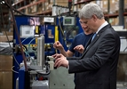 Harper, Trudeau trade blows over economy-Image1