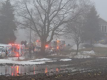 OPP treating fire at group home as crime scene