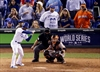 World Series fan causes debate with Marlins jersey-Image1