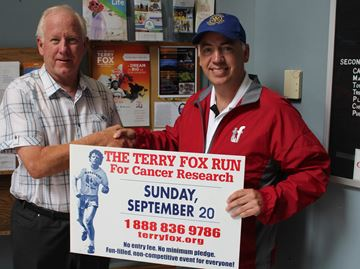 Terry Fox challenge