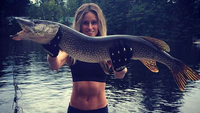 Cottager new to angling hooks massive pike on Muldrew Lake