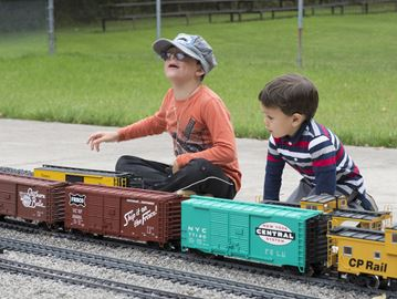 All aboard for the Burlington Model Railway Club open house