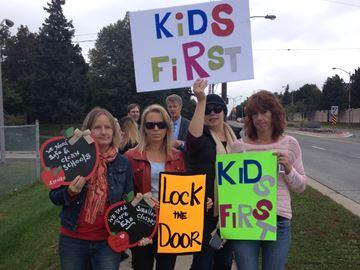 Burlington parents protest unlocked front doors at Halton public elementary schools