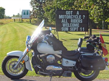 The 28th annual Guide Dogs Motorcycle Ride