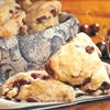 Sweet cherry scones