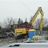 Video of North York mansion demolition