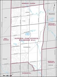 New Aurora-Oak Ridges-Richmond Hill riding