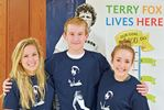 Midland Secondary School ready for Terry Fox Run/Walk