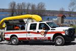 Firefighters search for owner of kayak