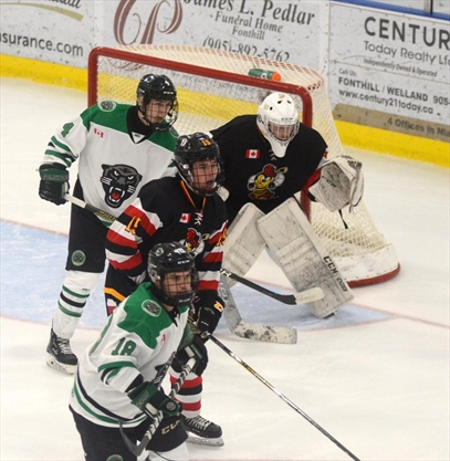 Panthers, Jr. Canadians shut out