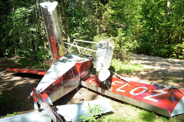 'I saw that it was going to crash': Bobcaygeon plane crash witness