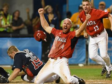 Canada wins gold in Pan Am men's baseball