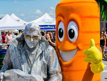 Carrot Fest shines in Bradford
